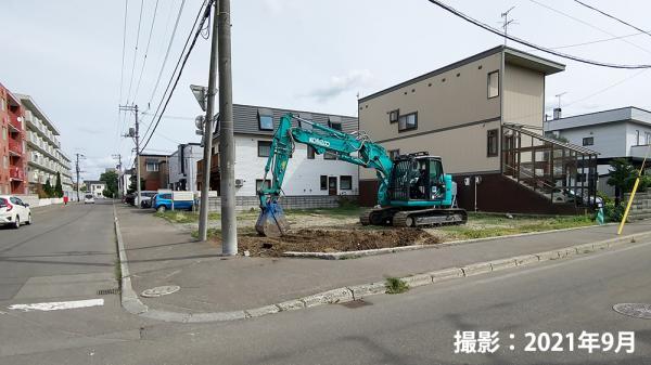 札幌市中央区南26条西8丁目【建築条件付き】 画像2